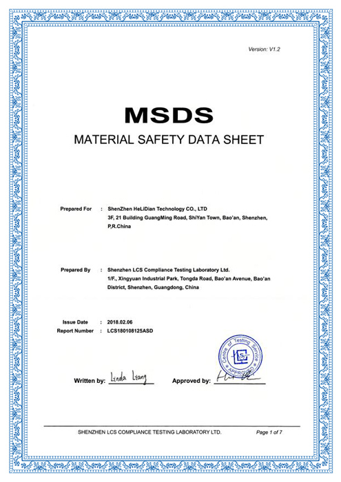 MSDS-LCS